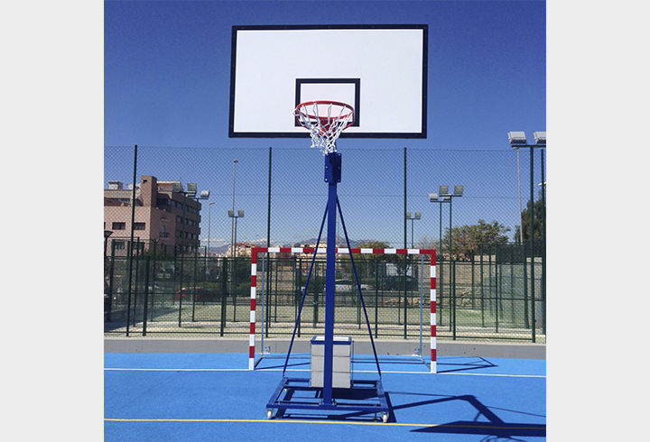 """Milan"" school basket and mini-basket goals (with base)"