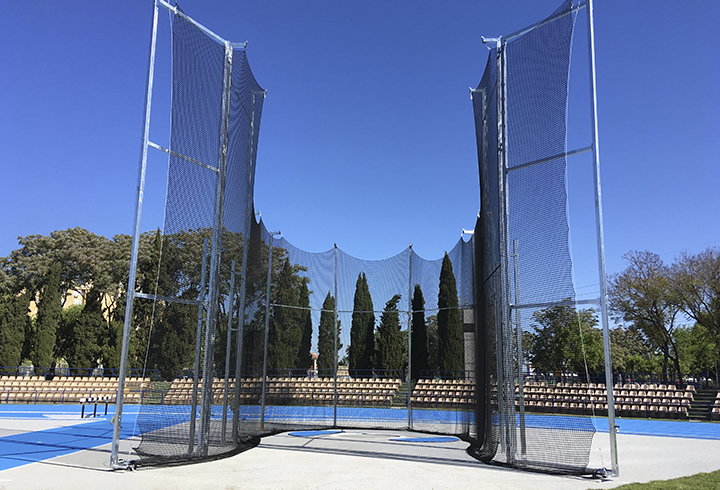 Hammer/discus cage